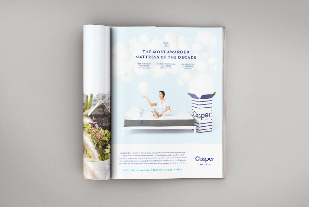 Casper Print Advertising