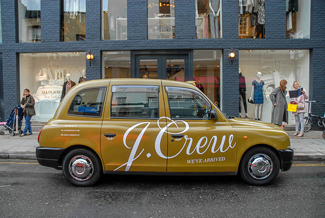 J.Crew London Taxis